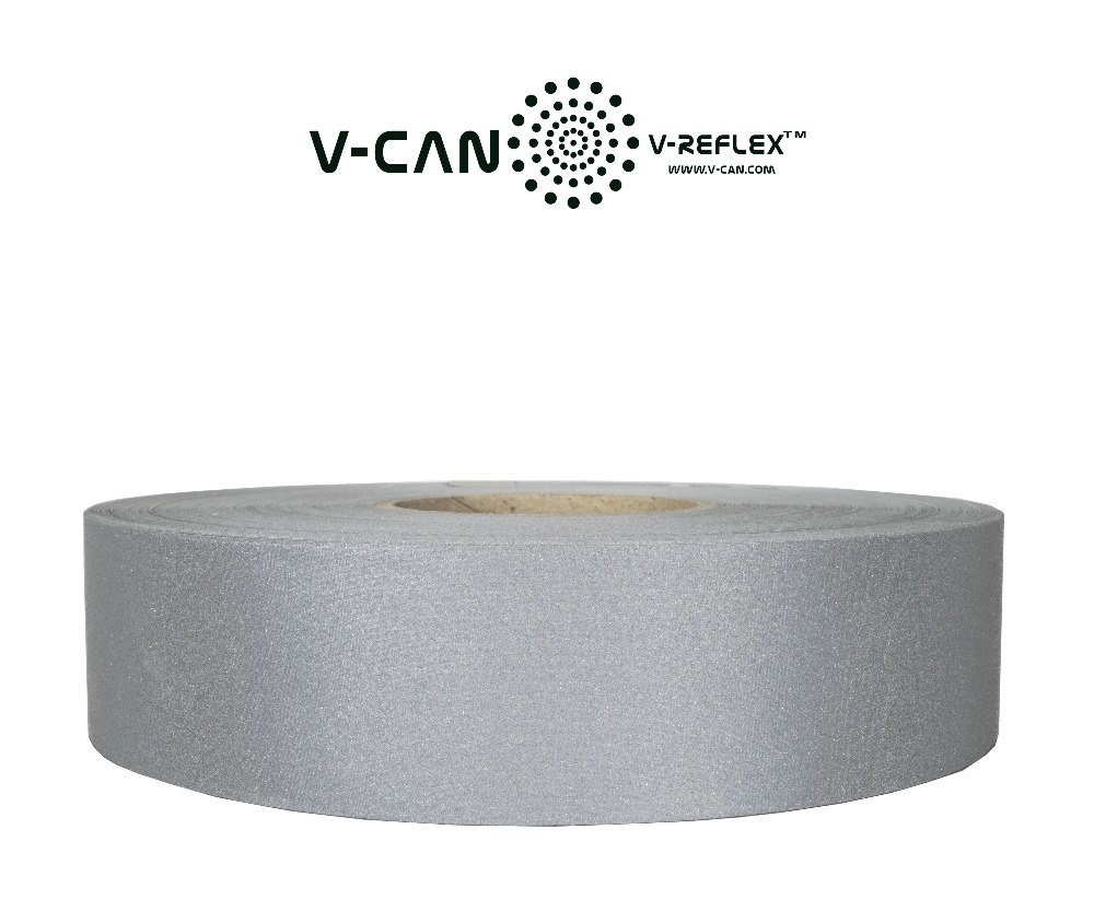 Being Seen Reflective Fabric Tape,road safe,reflecting white fabric ,RF-HW254000