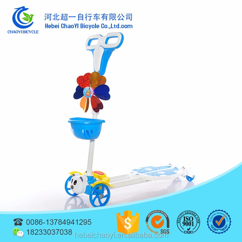 Multi-functional 3 in 1 Cheap Baby Scooter, Tricycle, Kick Scooter for Kids