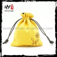 Excellent quality velvet drawstring pouches, promotional gift wrap, jewellery packaging bag