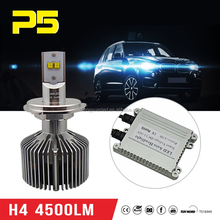 4500lm kit new bulbs LED hid angel eye projector h4 8000k/4000k HeadLight kit bi-xenon
