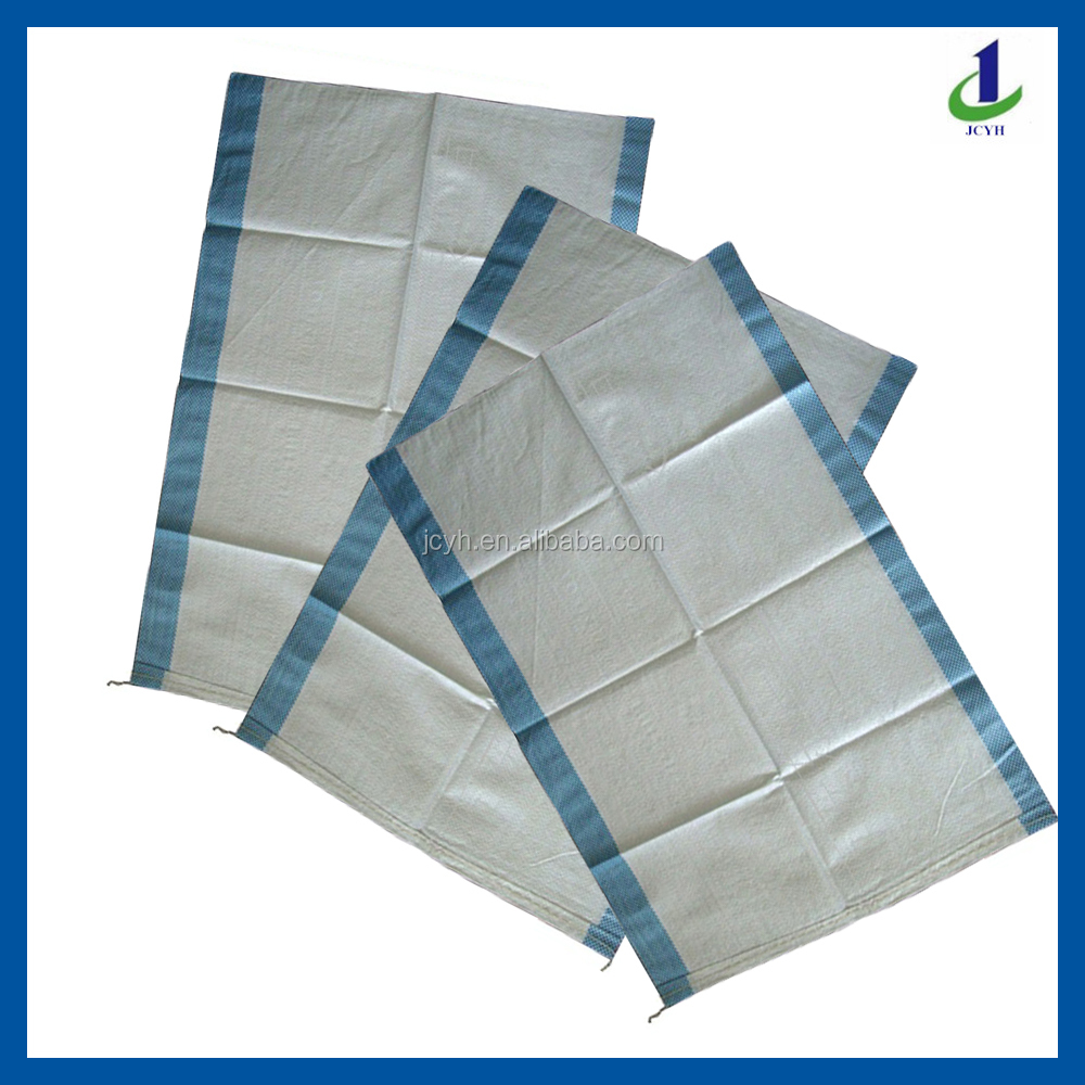 Food rice flour paddy packing PP woven bag for 25KG 50KG 60KG 100KG