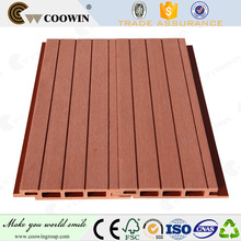 Waterproof anti-uv wpc wall cladding outdoor plastic wall covering