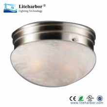 Flush mount lamp marbled Ceiling light cover