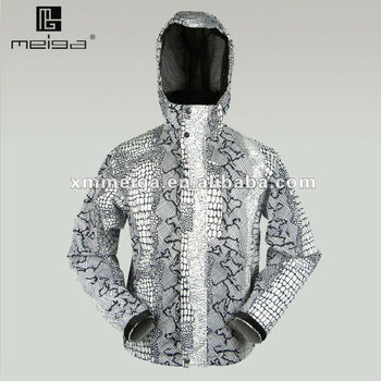 men's hardwear with check decoraction,all seam taped,bisides with coating fabric,100% waterproof