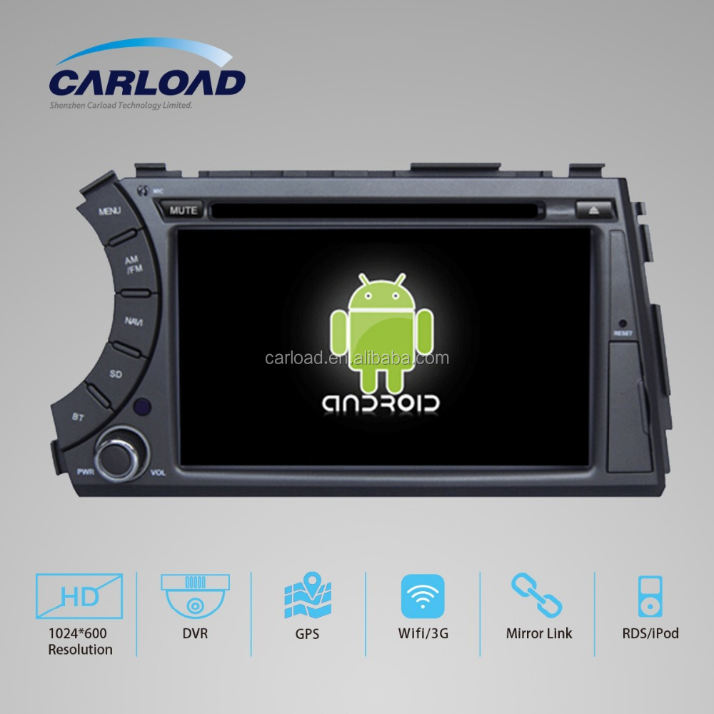 7in Touch screen in dash 2 din car gps for ssangyong kyron with GPS, iPOD, TV, RDS, Wifi, 3G, mirror functions