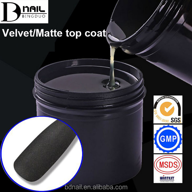 Professional Producer UV Gel Home Consumer Matte Nail Top Coat