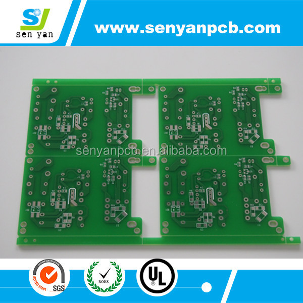 High quality one Layer Printed Circuit Board/ pcb board for tv tuner/customized design