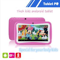 HD 7 inch android 4.4 kids learning computer machines kids educational tablets for children