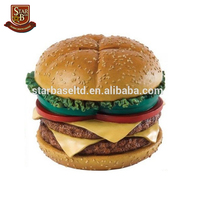 Handmade Resin Hamburger Shape Personalized Money