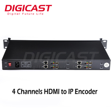 (DMB-8811) Newest H.264 Wireless Full HD HDMI Network Video Server 4 channel IPTV Encoder