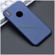 Newest products anti-skid pu leather phone case for iPhone X