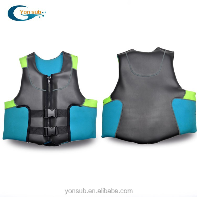 super comfortable smooth skin neoprene yacht life vest life jacket