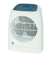 Fan Heater with Remote Control and Timer
