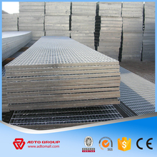 Wide Used Steel Bar Grating Hot Dip Galvanized I Bar type Serrated Bar Grates Weight
