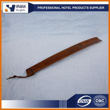 Best price hotel wood shoe horn wholesale