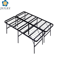 new design popular iron metal folding cot DJ-PQ12 steel frame
