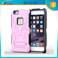 Top supplier beautiful stylish design TPU+ PC shockproof mobile phone back cover for iphone 6