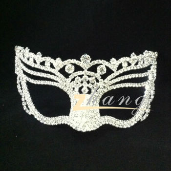 Beauty design rhinestone masquerade mask