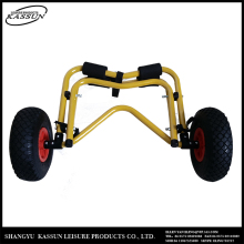 Profession manufacturer fashionable uv resistant kayak cart beach trolley