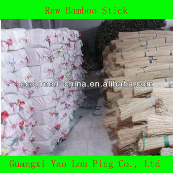 Raw Round Bamboo Stick For Making Incense