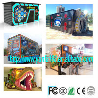 wow! Unbelievable new product 5d mobile cinema car truck amusement rides with home theater music system for sale 2014 hot