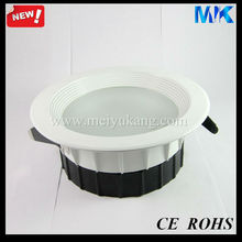 10W con 3.5inch /5inch/6inch/8inch Die cast led downlight shells plastic lamp shade lamp cover