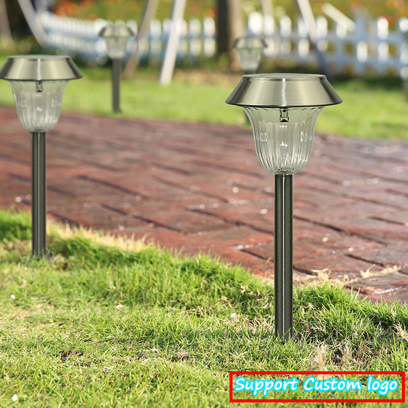 Solar Outdoor Pathway Landscape Garden lawn Lights with RGB led