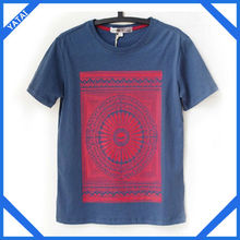 2014 new design 100% percent cotton t shirts led companies china