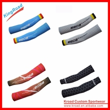 2016 wholesale custom compression uv protection arm sleeve for basketball/cycling/running