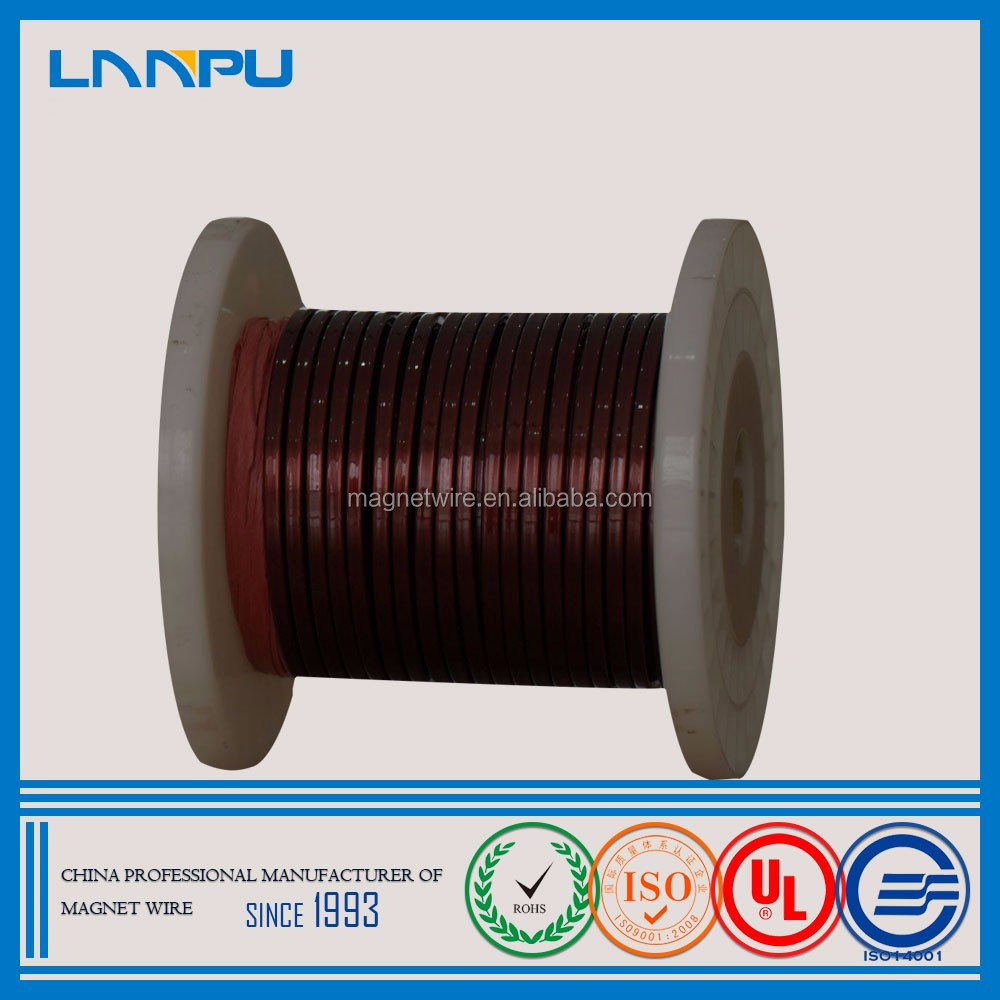 Hot Products Enamelled Coated Magnet Rectangular Copper Winidng Wire for the Rewinding