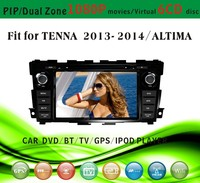 gps receiver car fit for Tenna Altima 2013 2014 with radio bluetooth gps tv pip dual zone