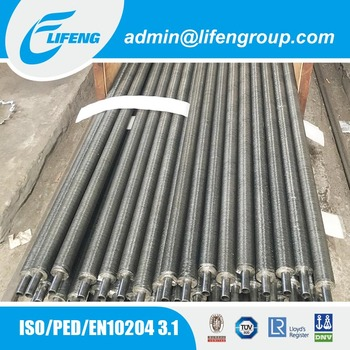 Economizer parts aluminum G type embedded fin tube