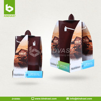 cardboard counter top rotatable displays with hooks for pets
