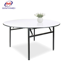 camping round restaurant folding table made in China