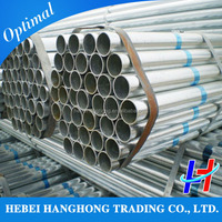 hot-rolled seamless 8 inch schedule 40 galvanized steel pipe