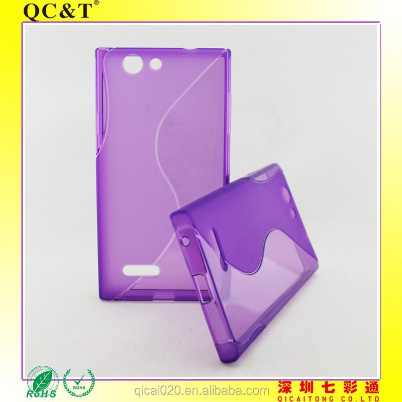 alibaba express mobile phone accessory S line 6 TPU for ZTE Blade L2