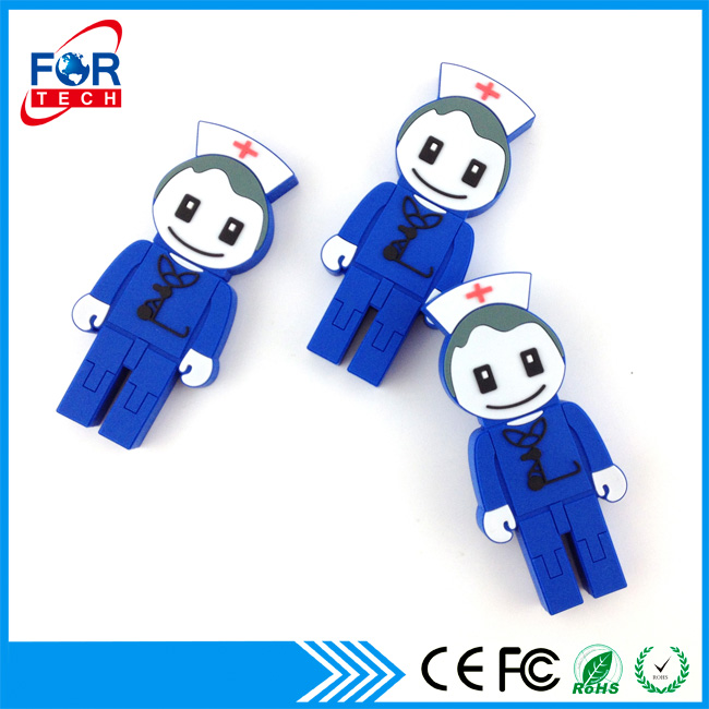 Good Quality Novelty Dentist Gift USB Flash Drives for Corporate Giveaways with Oem Logo USB Printing