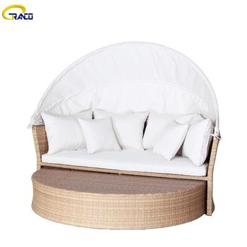 Wholesale garden wicker sofa rattan wicker sofa patio wicker sofa