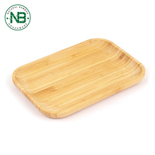 Custom OEM eco-friendly restaurant serving fruit buffet tray food plates