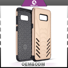 For Samsung Galaxy S8 Case Hybrid Hard PC+Protective Soft TPU Material Cell Phone Covers