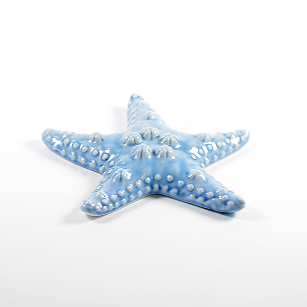 Different size ocean art craft seastar home porcelain decoration