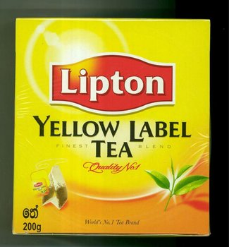 Lipton Yellow Label Tea