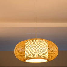 Modern Wooden Coco Pendant Lighting With Metal Shade Chandelier Lights and Pendant Lamp