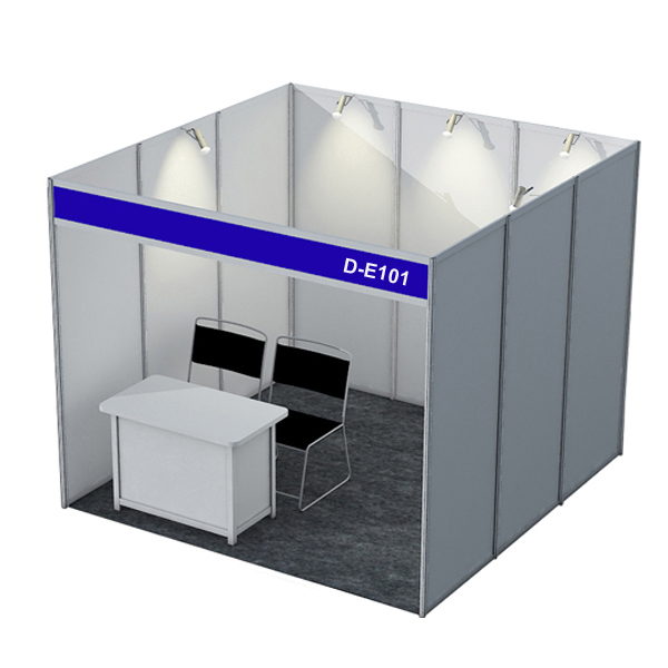 Aluminum Trade Show Booth 10x10 Standard Exhibition