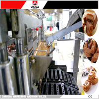 High output rock candy toffee making machine for candy processing line price