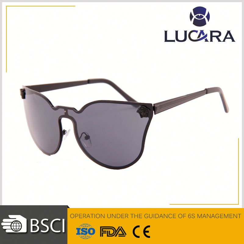 Best selling fashion brand sunglasses 2016 retro round sun glasses for man