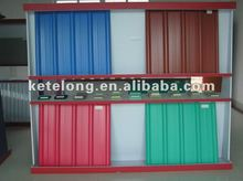 PVC roof sheet in different color