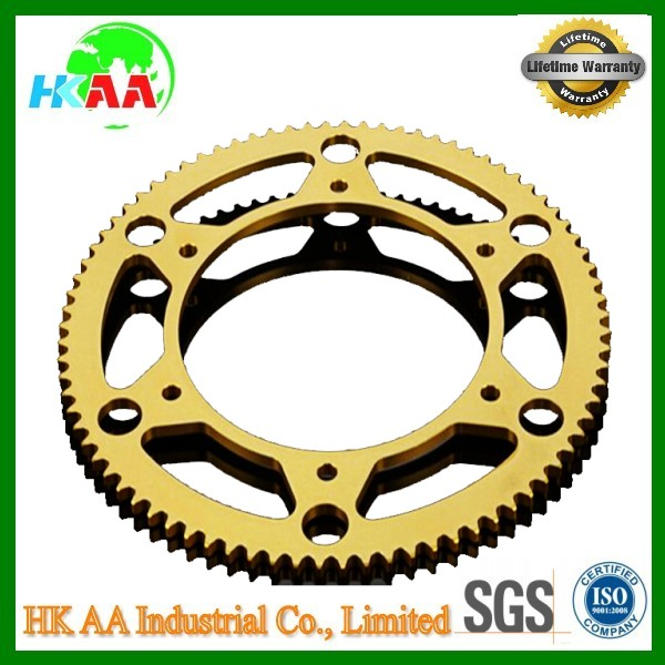 TS16949 approved sprocket manufacturer, brass/alloy aluminum/steel sprocket factory supplier