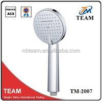 TM-2007 100%ABS bathroom accessories bathrooms designs rain hand shower head shower bath rain hand shower head