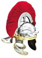 Roman Helmet with Red plume
